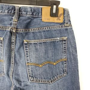 American Eagle Blue Jeans 28x32 Original Straight